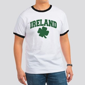Ireland Shamrock Ringer T