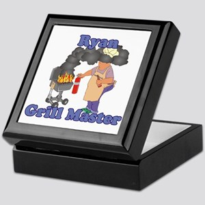 Grill Master Ryan Keepsake Box