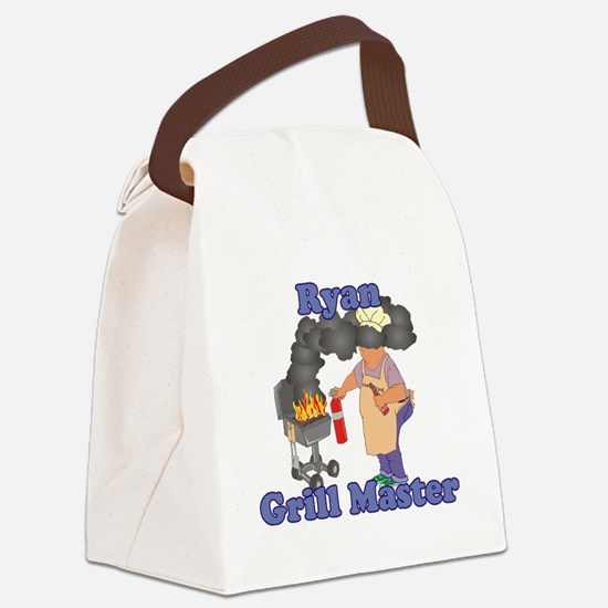 Grill Master Ryan Canvas Lunch Bag