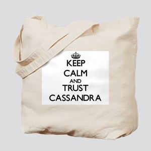 Keep Calm and trust Cassandra Tote Bag