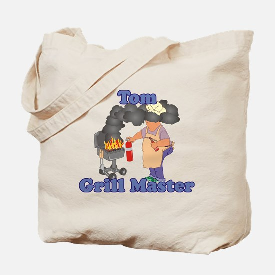 Grill Master Tom Tote Bag