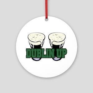 Dublin Up Ornament (Round)