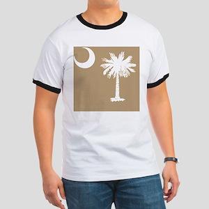 South Carolina Palmetto State Flag Ringer T