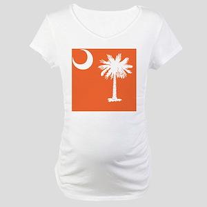 South Carolina Palm... Maternity T-Shirt