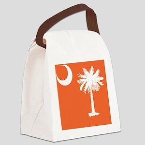 South Carolina Palm... Canvas Lunch Bag