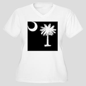 South Carolina Pa Women's Plus Size V-Neck T-Shirt