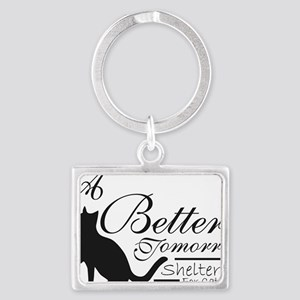 A Better Tomorrow Shelter For C Landscape Keychain