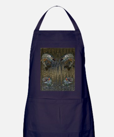 Musky Fishing Apron (dark)