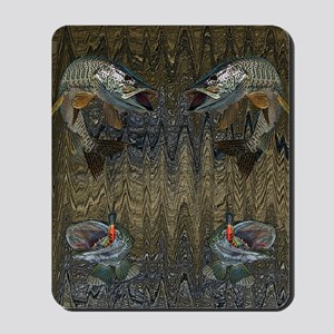Musky Fishing Mousepad