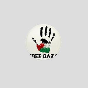 Free Gaza Mini Button