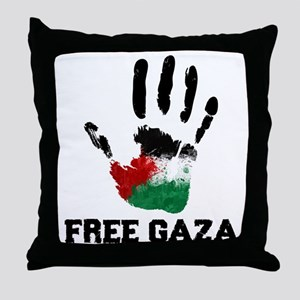 Free Gaza Throw Pillow