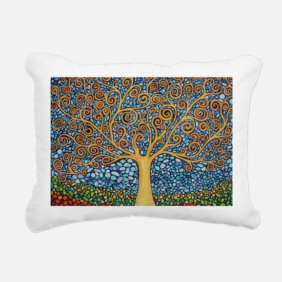 My Tree of Life Rectangular Canvas Pillow