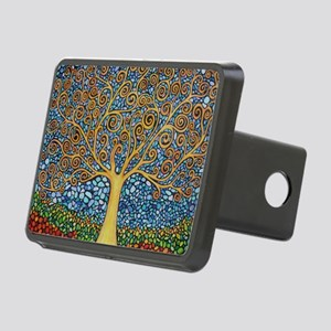 My Tree of Life Rectangular Hitch Cover