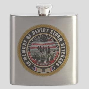 Desert Storm Veterans Flask