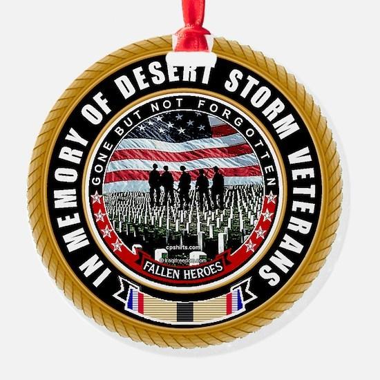Desert Storm Veterans Ornament