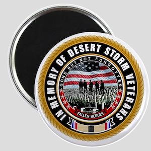 Desert Storm Veterans Magnet