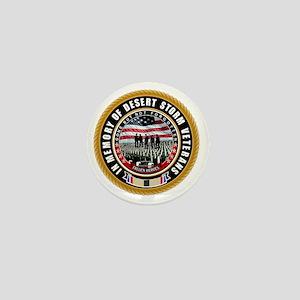 Desert Storm Veterans Mini Button
