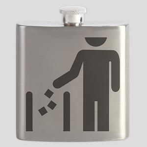 Litter waste garbage Flask