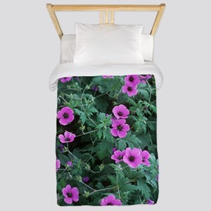 American cranesbill 'Bressingham Flair' Twin Duvet