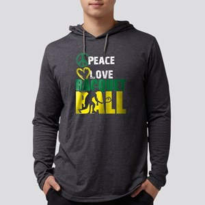 Racquetball Shirt - Love Racqu Long Sleeve T-Shirt