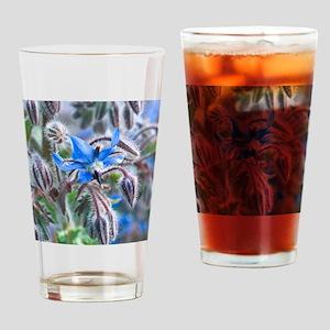Borage (Borago officinalis) Drinking Glass