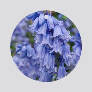 Bluebells (Hyacinthoides hispanica) Round Ornament