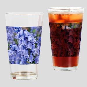 Bluebells (Hyacinthoides hispanica) Drinking Glass
