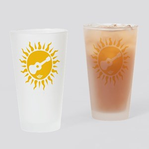 uke are my sunshine Drinking Glass