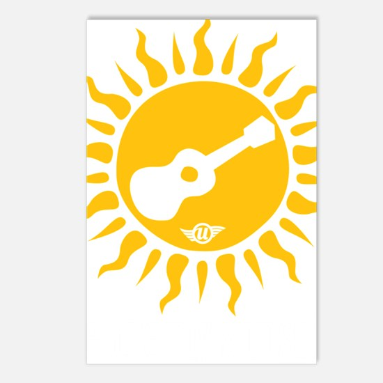 uke are my sunshine Postcards (Package of 8)