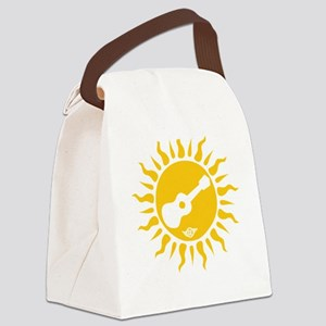 uke are my sunshine Canvas Lunch Bag