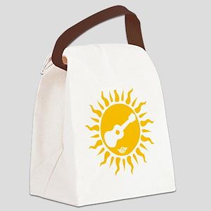 uke are my sunshine Canvas Lunch Bag
