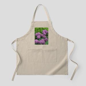 Allium flower Apron