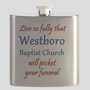 Westboro #12 Flask
