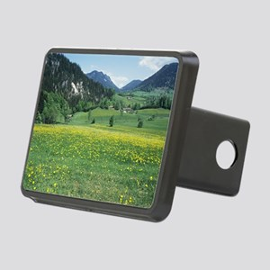 Alpine meadow Rectangular Hitch Cover