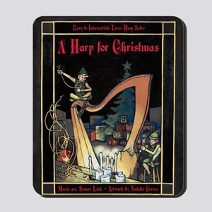 Cover - Harp for Christmas Mousepad