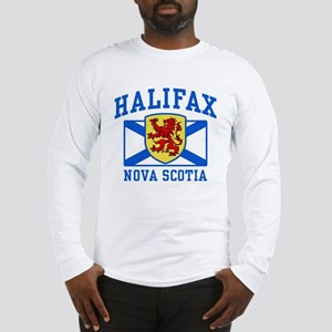 Halifax Nova Scotia Long Sleeve T-Shirt