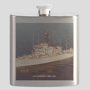 uss conquest calendar Flask