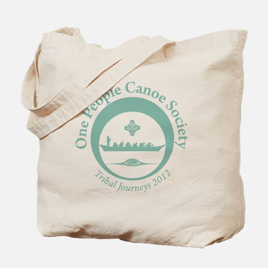One People Canoe Society Tribal Journeys  Tote Bag