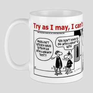 Political Cartoon Mug