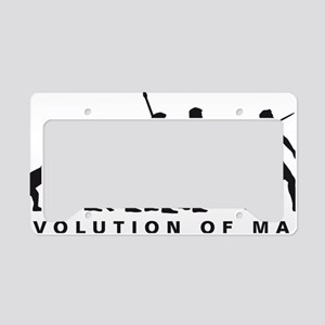 evolution javelin License Plate Holder