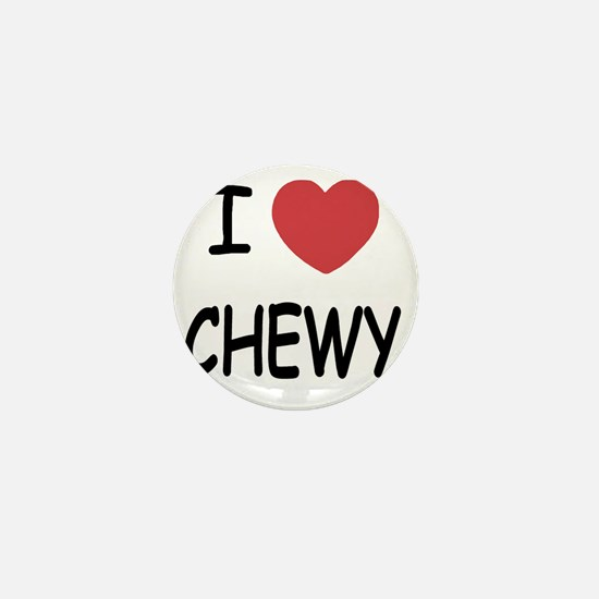 I heart CHEWY Mini Button