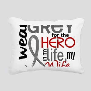 D Wife Rectangular Canvas Pillow