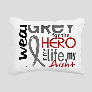 D Aunt Rectangular Canvas Pillow