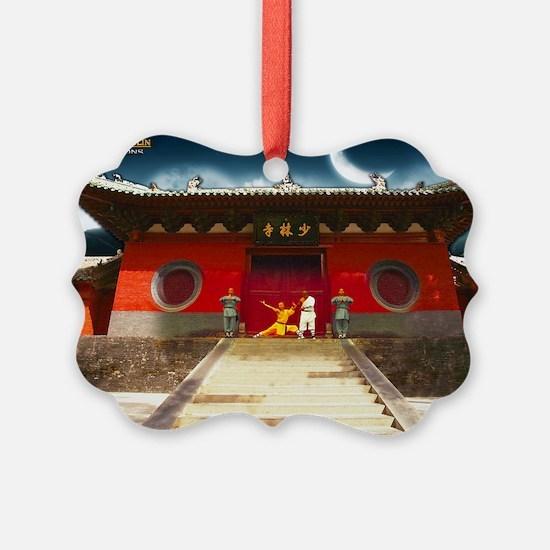 Wushu Shaolin Productions Wallpap Ornament