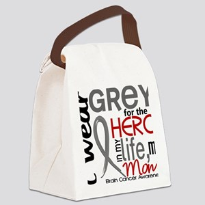 D Mom Canvas Lunch Bag