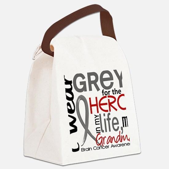 D Grandma Canvas Lunch Bag