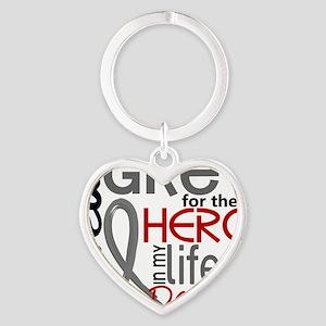 D Daughter Heart Keychain