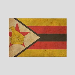 Zimbabwe Rectangle Magnet