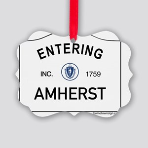 Amherst Picture Ornament
