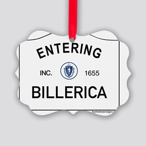 Billerica Picture Ornament